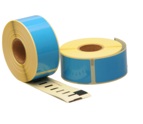 Afbeelding van Seiko SLP-1BLB kompatible Etiketten, 89mm x 28mm, 260 Etiketten, blau